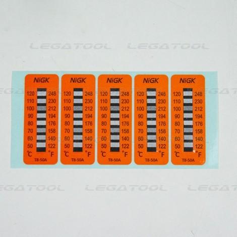 tem nhiệt độ nigk T8-50A