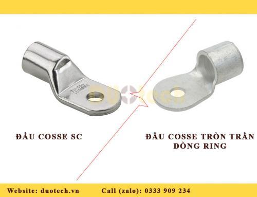 Sự Khác Nhau Giữa Đầu Cốt (Cosse) Trần Tròn Dòng Ring Terminals Và Đầu Cosse SC