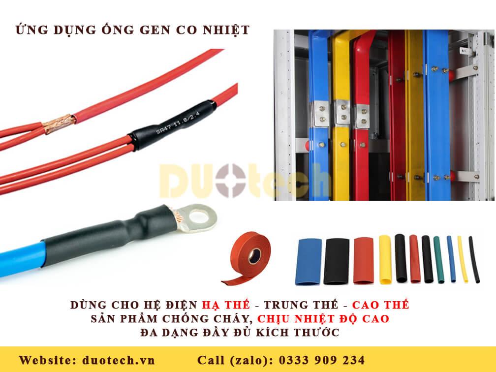 ống gen co nhiệt; ống co nhiệt; ống co nhiệt trung thế; ống gen co nhiệt trung thế; ống co nhiệt hạ thế; ống gen co nhiệt hạ thế; ống co ngót nhiệt; ống gen co ngót nhiệt;